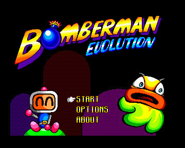 Bomberman Menu